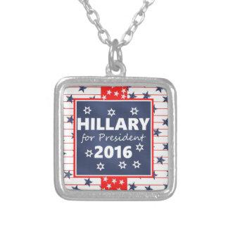 Hillary 2016: Estoy listo Colgante Cuadrado