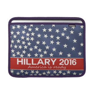 Hillary 2016: Estoy listo Fundas Para Macbook Air