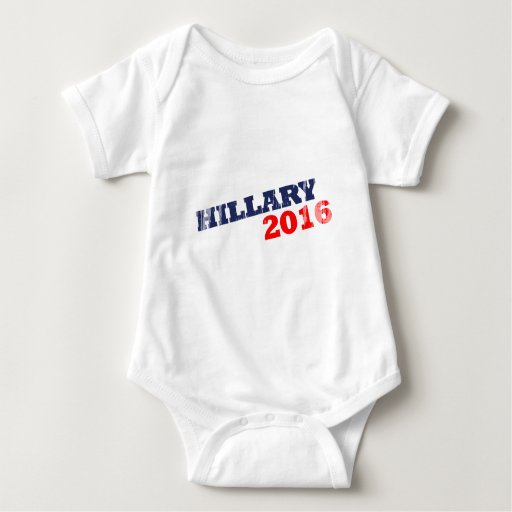 HILLARY 2016 - Faded.png Tshirts