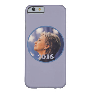 Hillary 2016 funda barely there iPhone 6
