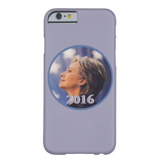 Hillary 2016 funda de iPhone 6 barely there