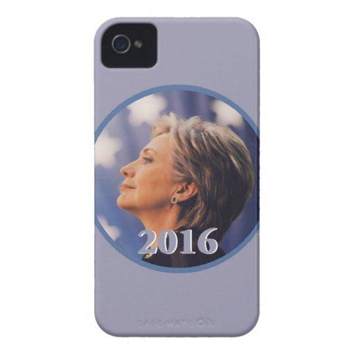 Hillary 2016 funda para iPhone 4 de Case-Mate