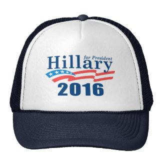 Hillary 2016 gorros bordados