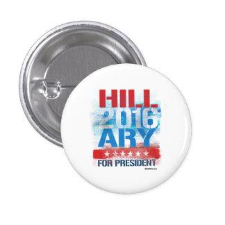 HILLARY 2016 - Graffiti Art Pinback Button
