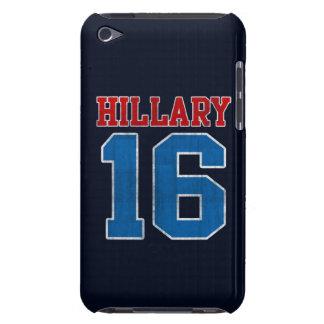 Hillary 2016, Grunge Retro Varsity iPod Touch Case-Mate Case