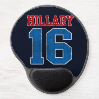 Hillary 2016, Grunge Retro Varsity Gel Mouse Pads