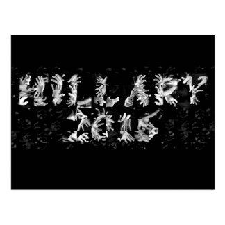 Hillary 2016 Hands - Postcard