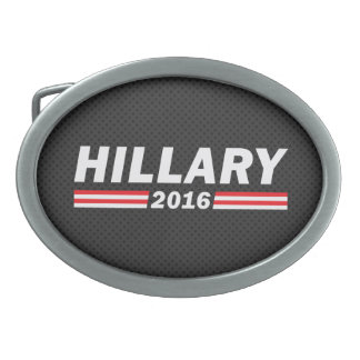 Hillary 2016 (Hillary Clinton) Oval Belt Buckle