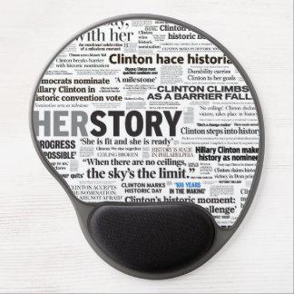 Hillary 2016 Historic Headline Mousepad