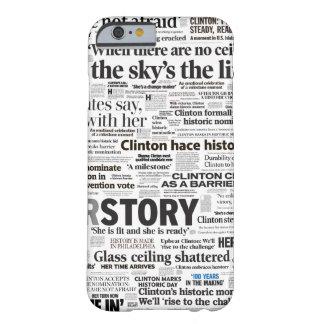 Hillary 2016 Historic Headline Phone Case