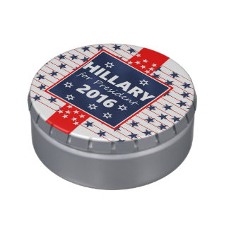 Hillary 2016: I'm ready Jelly Belly Candy Tins