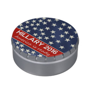 Hillary 2016: I'm ready Jelly Belly Tins