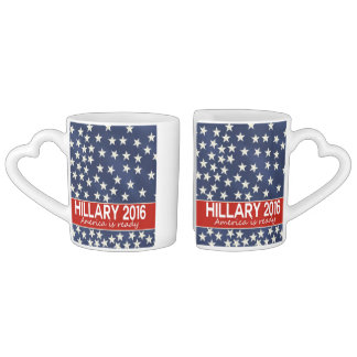 Hillary 2016: I'm ready Coffee Mug Set