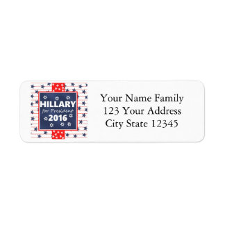 Hillary 2016: I'm ready Return Address Label
