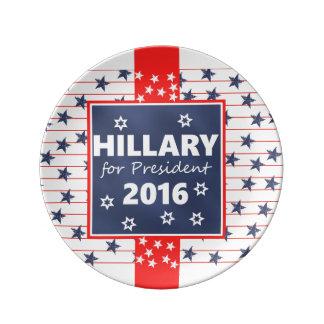 Hillary 2016: I'm ready Porcelain Plate