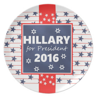 Hillary 2016: I'm ready Plate