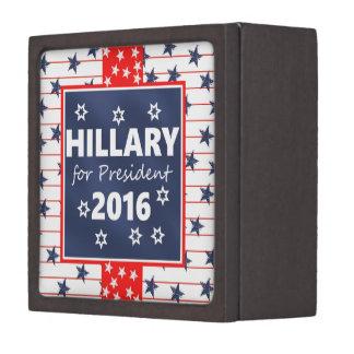 Hillary 2016: I'm ready Premium Trinket Box