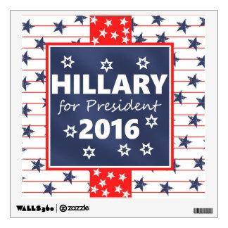 Hillary 2016: I'm ready Wall Decal
