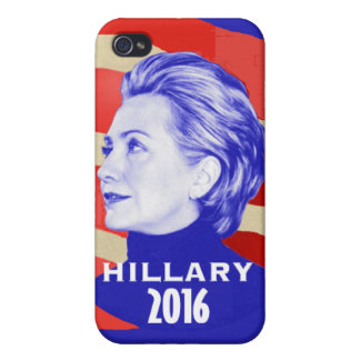 HILLARY 2016 iPhone 4/4S FUNDA