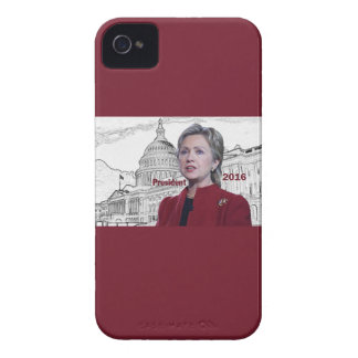 Hillary 2016 iPhone 4 Case-Mate protector