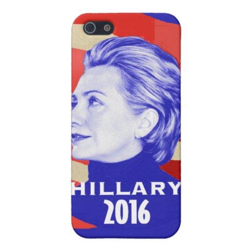 HILLARY 2016 iPhone 5 CARCASA