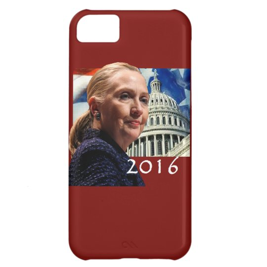 Hillary 2016 iPhone 5C case
