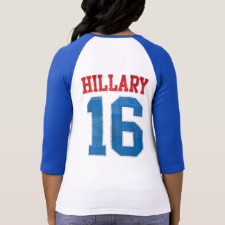 Hillary 2016, jersey de béisbol retro del equipo camisetas