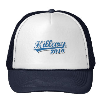 HILLARY 2016 JERSEY OUTLINE.png Trucker Hats