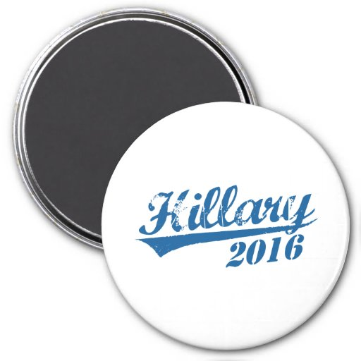 HILLARY 2016 JERSEY.png 3 Inch Round Magnet