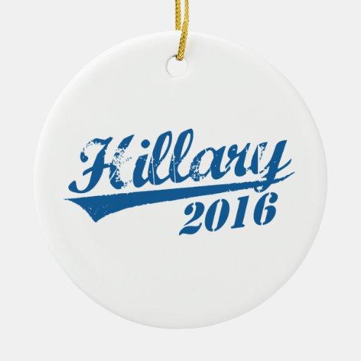 HILLARY 2016 JERSEY.png Adorno Redondo De Cerámica