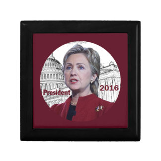Hillary 2016 jewelry box