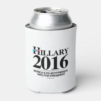 Hillary 2016 - La esposa de los ex-novios de Enfriador De Latas