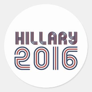 HILLARY 2016 LINE RETRO - png Sticker