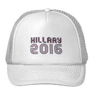 HILLARY 2016 LINE RETRO -.png Trucker Hat