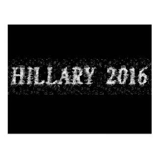 Hillary 2016 Made w/Hands 1 line - Postcard
