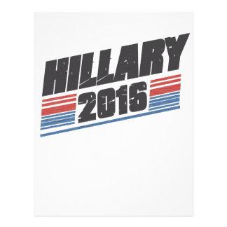 Hillary 2016 membrete