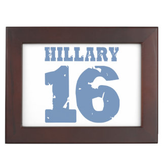 HILLARY 2016 MEMORY BOXES