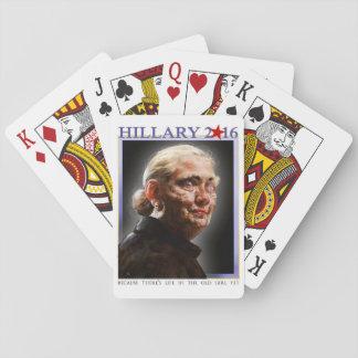 Hillary 2016 naipes