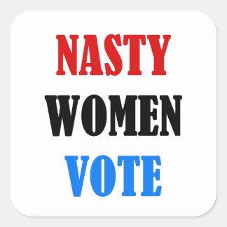 Hillary 2016 Nasty Woman Vote sticker