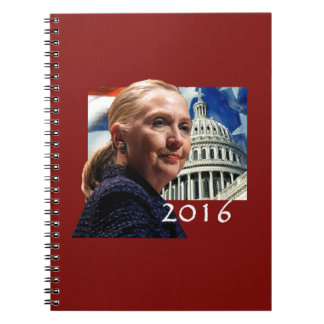 Hillary 2016 notebook