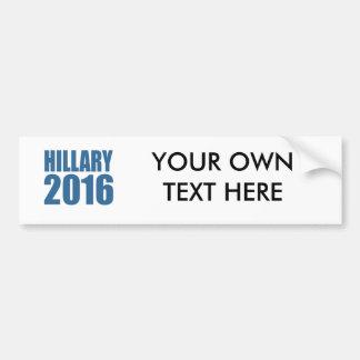 HILLARY 2016 NOW CAR BUMPER STICKER