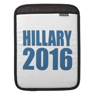 HILLARY 2016 NOW iPad SLEEVES