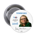 HILLARY 2016 Official Tennessee Pinback Button