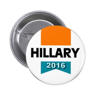 HILLARY 2016 PIN REDONDO DE 2 PULGADAS