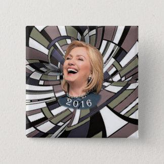 Hillary 2016 pinback button