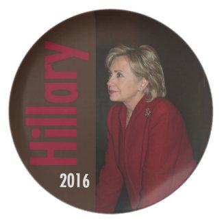 Hillary 2016 Plate Dinner Plates