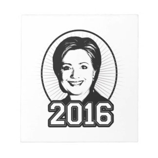 HILLARY 2016 - png Memo Notepads
