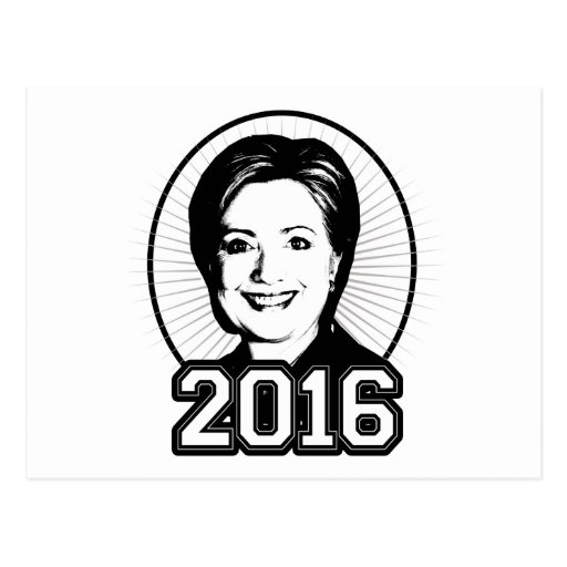 HILLARY 2016 -.png Postcard