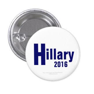 Hillary 2016 por HillaryClinton4u Pin Redondo De 1 Pulgada