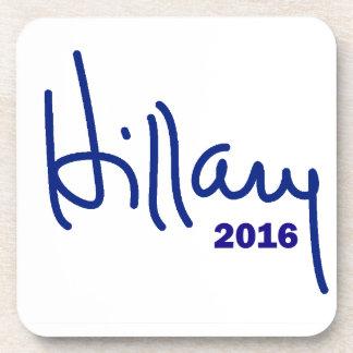 Hillary 2016 posavasos de bebida